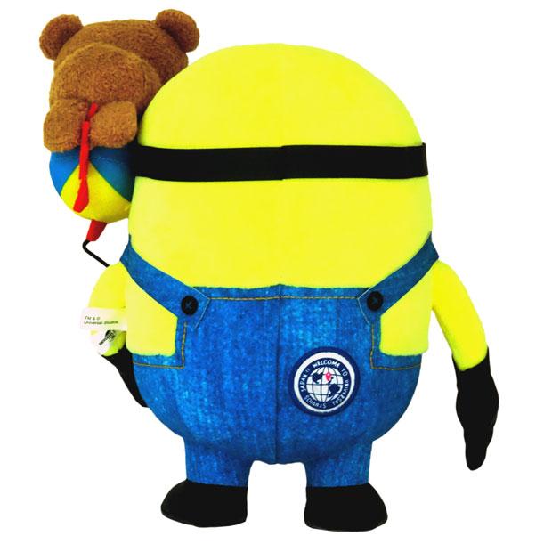 Minions Tim USJ Limited Minion Park Stuffed Doll Mascot Universal Studios Japan